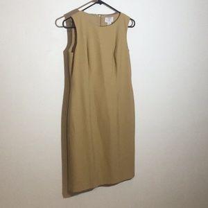Classic Loft Tan Work Dress